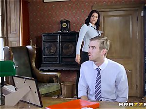 large dicked teacher drills jaw-dropping college girl Emma Leigh
